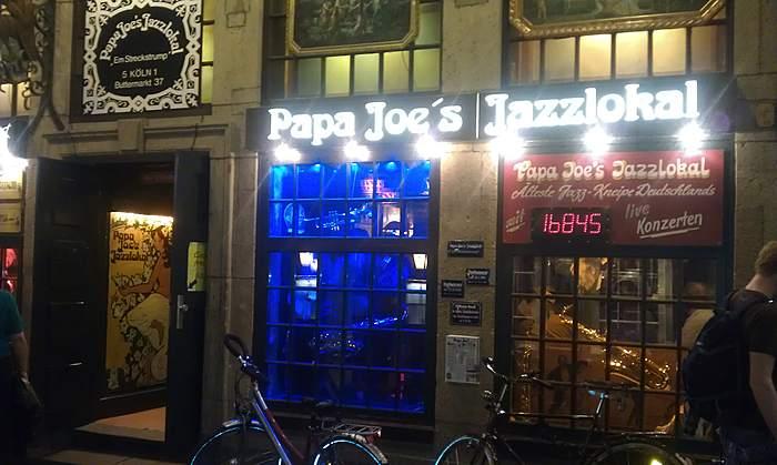 Papa Joe's Jazzlokal Em Streckstrump Köln. Deutschlands ältestes Jazzlokal mit täglichem Live-Jazz
