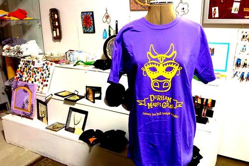 Durham Mardi Gras t-shirt 2