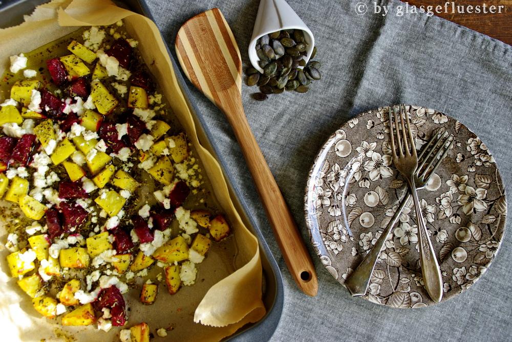 Ofenkartoffeln und Rote Bete by Glasgeflüster 1 klein