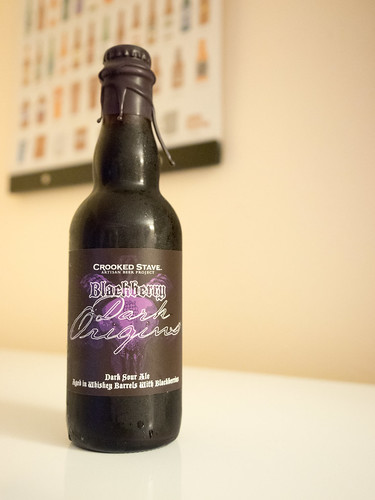 Crooked Stave Blackberry Dark Origins