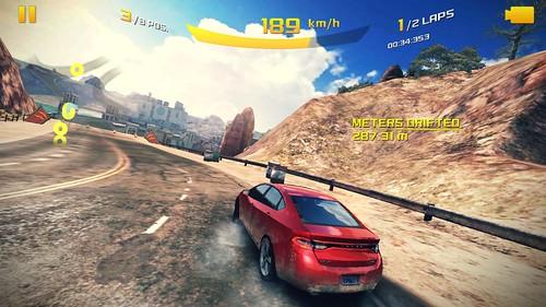 เกม Asphalt 8: Airborne ระดับ Medium บน i-mobile IQX3