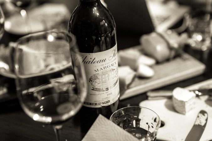 Oude wijnen en Hollandse kazen: Chateau Kirwan 1988 uit Margaux bij Skeapsrond uit Ransdorp