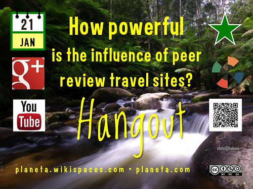 How powerful is the influence of peer review travel sites? 01.2014