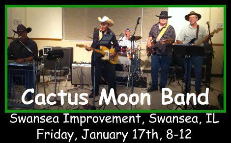 Cactus Moon Band 1-17-14