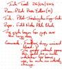 Ink Review Pilot Iroshizuku Fuyu-Gaki - Field Notes