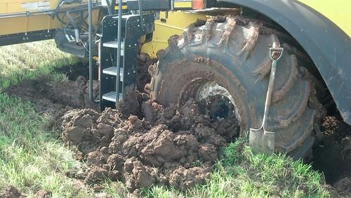 Buried!