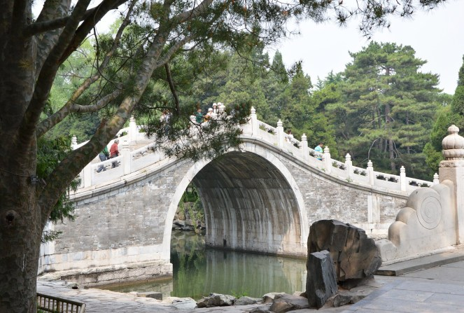 the summer palace, beijing, china, bridge