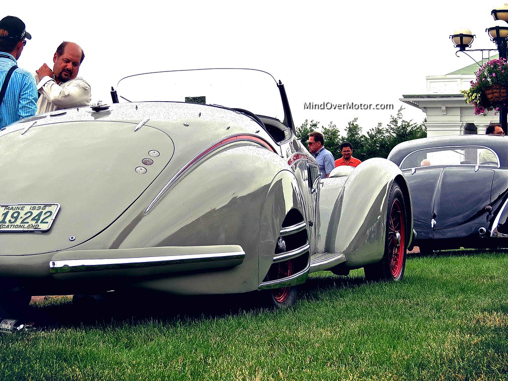 1938 Alfa Romeo 8C-2900B Spider, Best In Show at The Elegance at Hershey