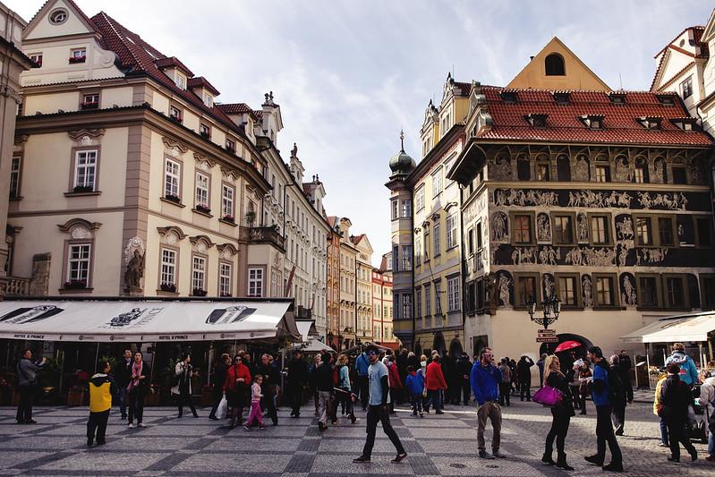 Stare Mesto, Praga.