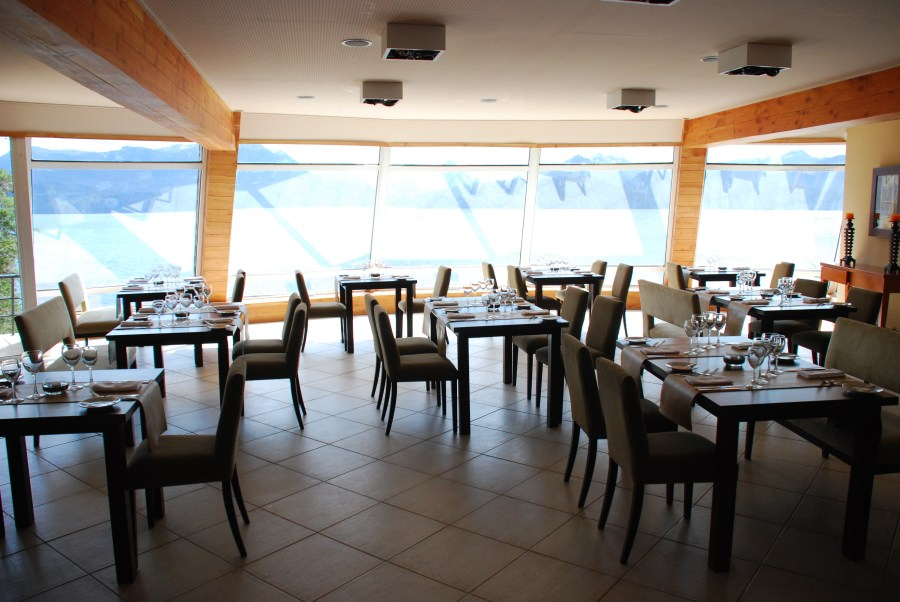 Comedor del hotel Sol Arrayán