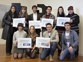 PREMIADOS. IV Premios Alumnado Mejor Difundido Imagen UPV-EHU
