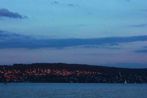Zurich sunset2