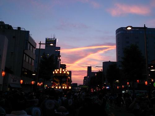 今日の夕焼けうちわ祭Verパート2