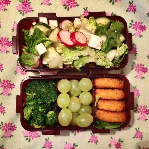 Very greenish lunch