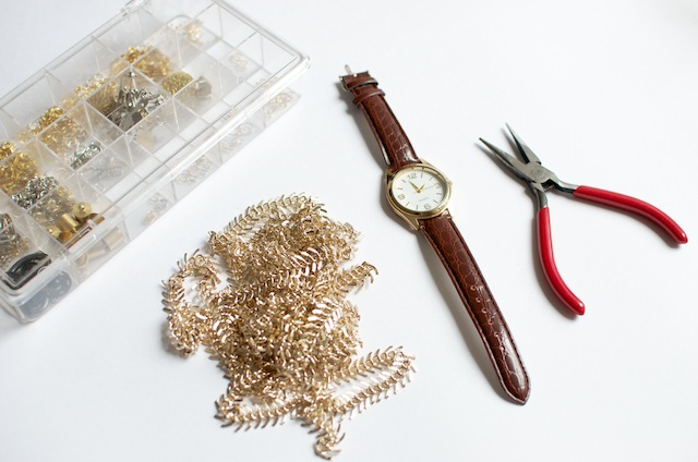 a pair and a spare DIY watch