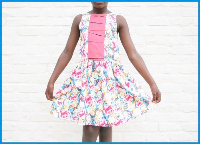 improvisational pleating dress (full)jes75