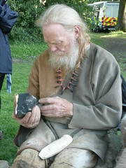 John Lord flint knapping
