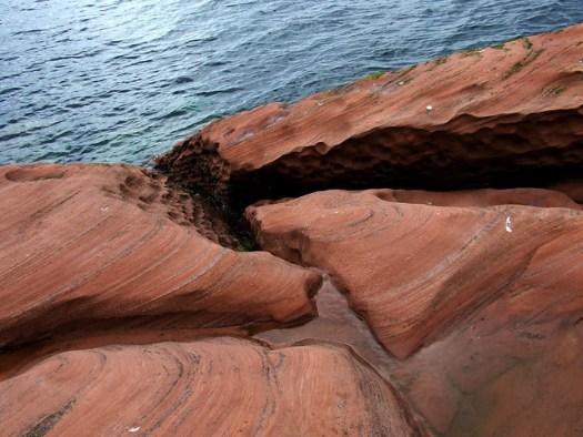 sandstoney beach