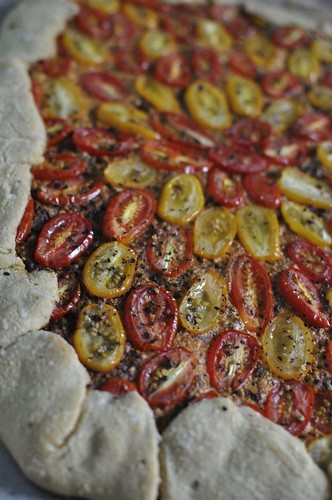 Tomato Pizza 'Tart'