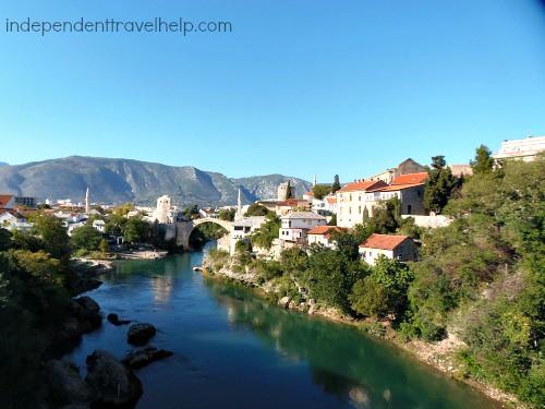 Mostar Stari Most and Stari Grad