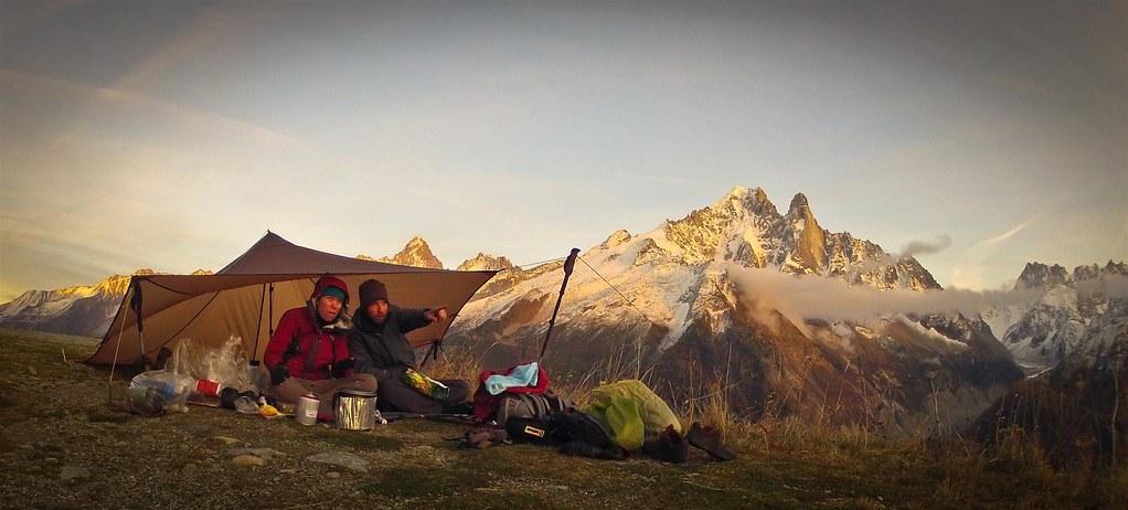 November. Mont Blanc. Haute-Savoie. French Alps.