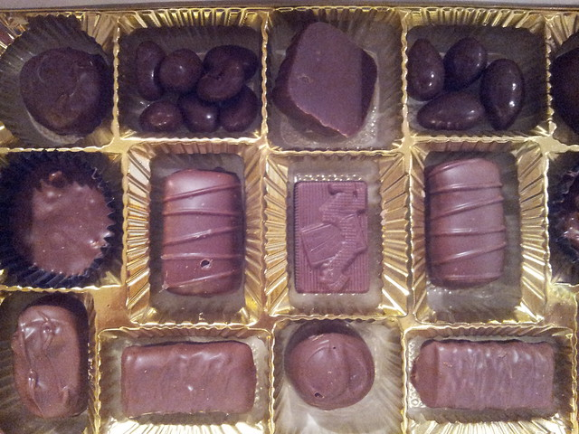 boxed Christmas candy