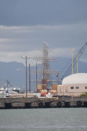 Nippon Maru masts