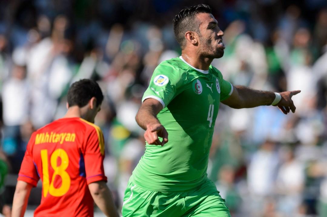 Switzerland Soccer WCup Algeria Armenia