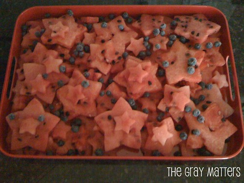 Star Spangled Watermelon