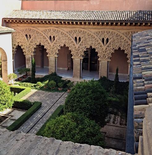 La Aljafería de #Zaragoza
