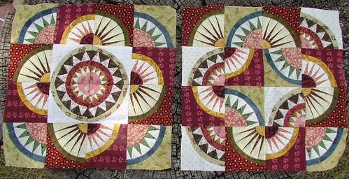 2 little quilt tops... by ruthiequilts