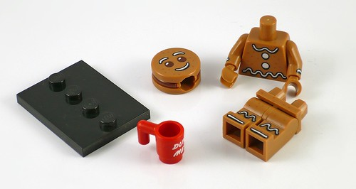 71002 LEGO Minifigures Series 11 06 Gingerbread Man 01