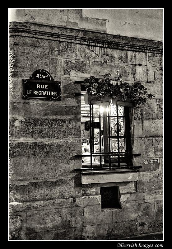 Rue Le Regrattier