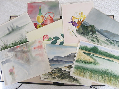30-year-old watercolor paintings