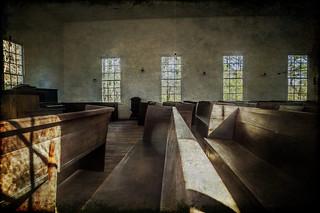 Retreat Presbyterian Interior with Texture