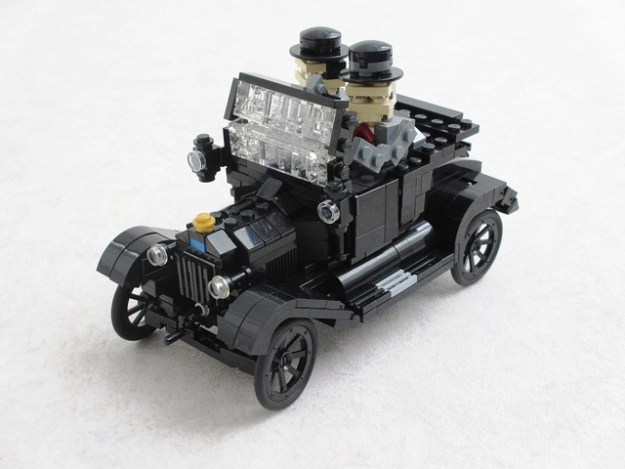 Laurel and Hardy Ford Model T (2)