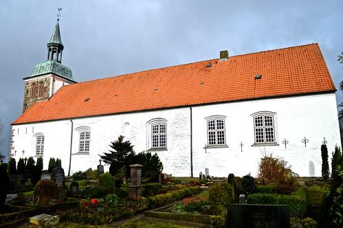 Adelby Kirche by Madeleine Winnett