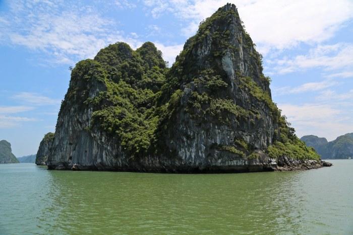 Halong Bay Rock Formation