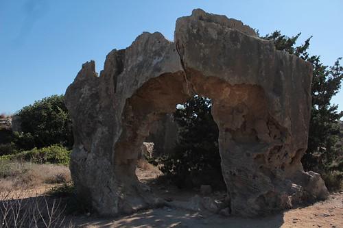 Roccia dalla forma particolare, Paphos