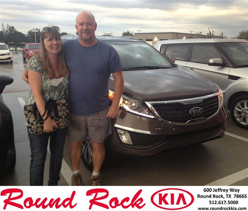Thank you to Robin Graves on your new 2013 #Kia #Sportage from Derek Martinez and everyone at Round Rock Kia! #NewCar! by RoundRockKia