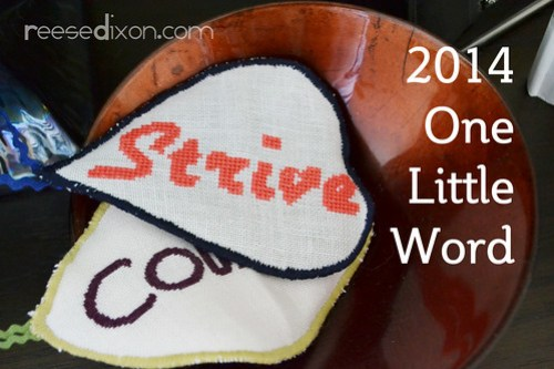 One Little Word Cross Stitch