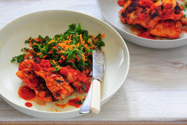 pirri pirri chicken with carrot tabbouleh-2