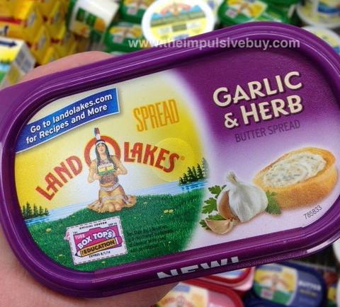 Land O lakes garlic and herb