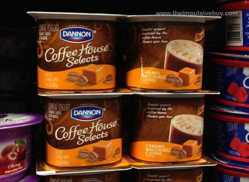 Dannon Coffee House Selects Caramel Macchiato Coffee