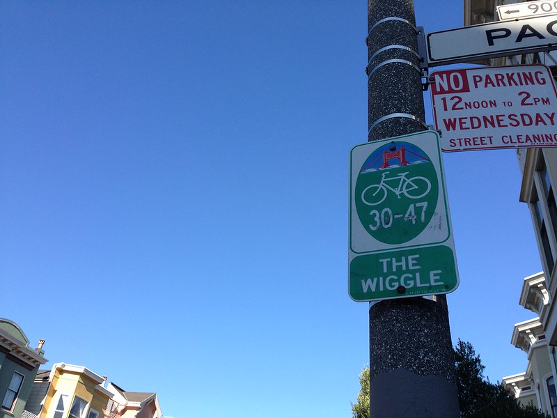 The Wiggle - best bike route around