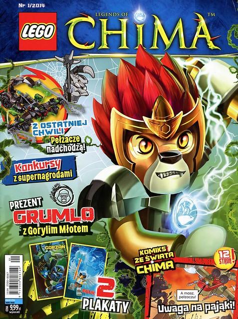 LEGO Legends of Chima Oficjalny Magazyn 2014-01 01