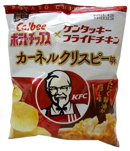 Calbee Kentucky Fried Chicken KFC Colonel Crispy Potato Chips