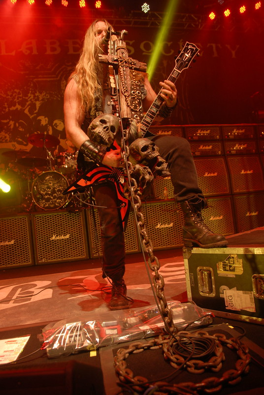Zakk Wylde of Black Label Society