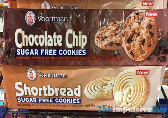 Voortman Chocolate Chip and Shortbread Sugar Free Cookies