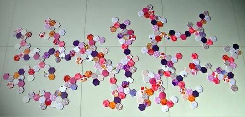Eva's Random Molecule Quilt